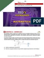 Raio x Vestibulares Matematica Viug