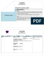 Planificacion Mes Diciembre Relacion Con El Medio 2015