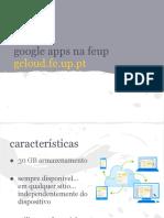 Google Apps Na Feup - Apresentação Projeto Feup
