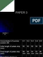 PAPER 3 Biologi