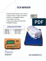 XK-3190-A12 Scale Indicator Service Manual