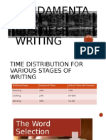Fundamentals of Business Writing