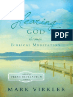 Hearing God –Free Preview