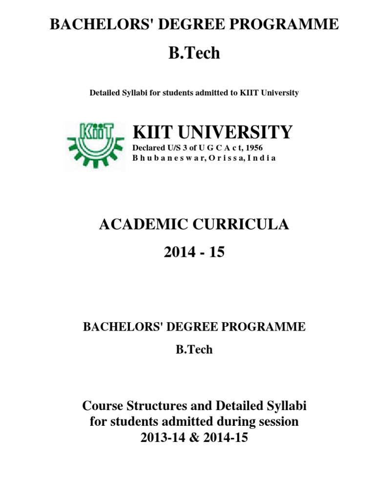 Btech Syllabus 2014 15 Instrumentation Electrical Engineering Circuitlab Rc Circuits Horowitz Hall Chapter 1