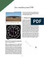 Radiofaro Omnidireccional VHF