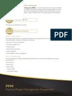 Practical Project Management Programme (PPM)
