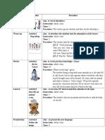 Lesson Plan 2014