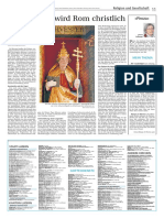 Mit Silvester wird Rom christlich