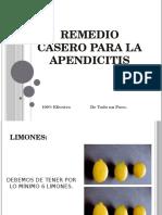Remedio Casero Para La Apendicitis