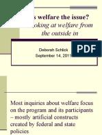Welfare Feminization