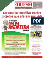 Jornal SEDUFSM de Março 2010