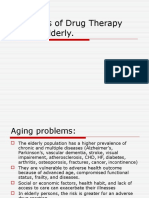 Principles of Drug Therapy for the Elderly Patient