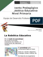 Fundamento pedagógico robotica educativa