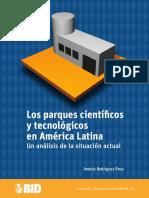 Los Parques Científicos y Tecnológicos en América Latina