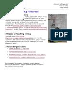 writing   teaching resources   minnesota writing project   university of minnesota