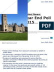 Ipsos year-end poll, safety