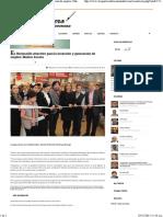 23-12-15 Es Hermosillo atractivo para la inversón y generación de empleo. Maloro Acosta