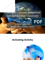 creating a culturally responsive sp ed classroom ppt