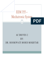 355 – Mechatronic System Part II - AC Drives 2