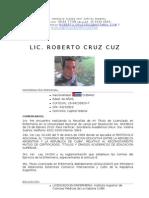 CV Lic Enfermería
