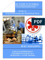 Buku Mahasiswa Blok 15 (2015)