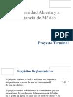 PRESENTACIÓN Proyectos Terminales CEIT