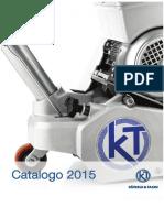 Catalogo Bkt Kt 2015