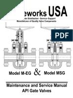 Valvework Usa. Model m Msg