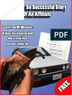 The Not So Successful Story of a Young Affiliate