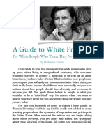 guide to white privledge