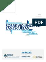 Ministerio de Educación - Relevamiento Cuantitativo Sobre Violencia en Las Escuelas Desde La Mirada de Los Alumnos