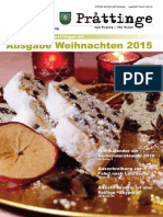 Tuxer Prattinge - Ausgabe Weihnachten 2015