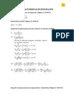 Formulas de Analisis Matematico