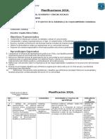 Planificación Historia Unidad 2; 4° Medio