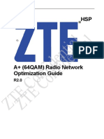 UMTS RNO Subject-HSPA+(64QAM) Radio Network Optimization Guide_R2.0