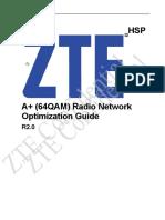 UMTS RNO Subject-HSPA+(64QAM) Radio Network Optimization Guide_R2.0