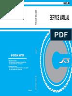 Daelim S3 125cc Service Manual - ENG