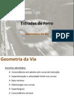 Apresentação 02 - Geometria Da Via