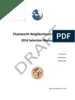 CNC 2016 Board Selection Manual