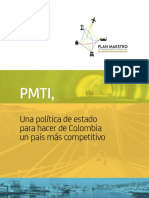 Plan Maestro de Transporte Intermodal 2015-2035 - Colombia