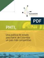 Plan Maestro de Transporte Intermodal 2015-2035 - Colombia