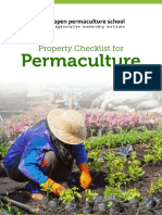 Permaculture Property Checklist