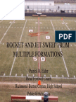Rocket and Jet Sweep From different formations