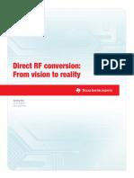 Direct RF Convertion
