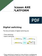 Ericsson Axe Platform