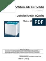 Manual Servicio Lav Hwm150-0623s