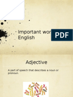 English Words
