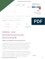 MDMA _ Arte Multidimensional de Movimiento®