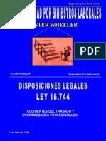 prevencion de riesgos  Ley 16744 Introducción responsabilidad siniestros laborales.ppt