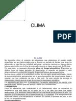 GEOLOGIA (CLIMA)